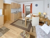 Küchen- und Essbereich Apartment