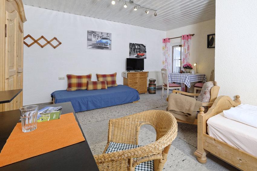 Wohn- und Schlafbereich5 Gästezimmer